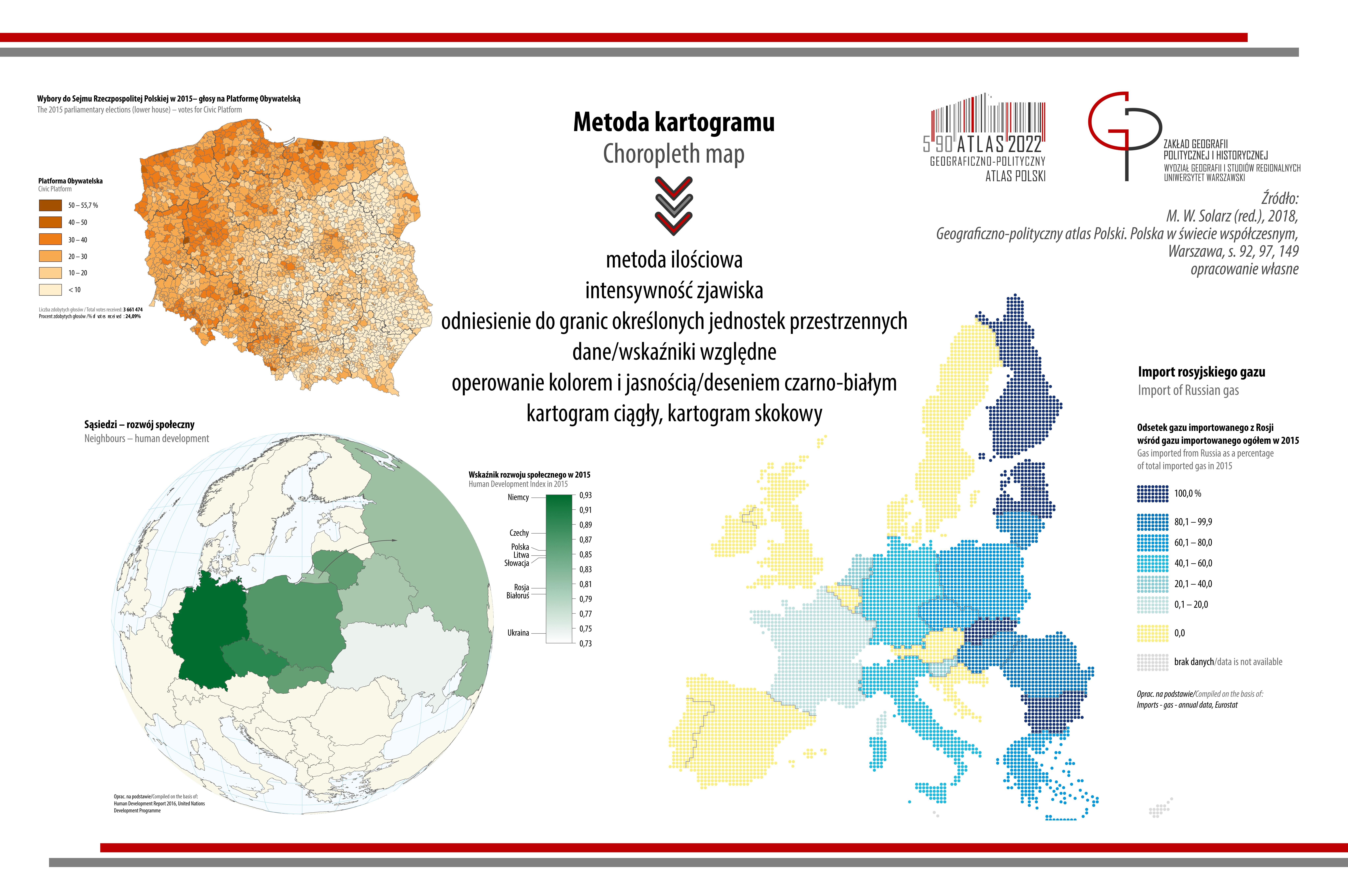 POST KARTOGRAFICZNY: metoda kartogramu