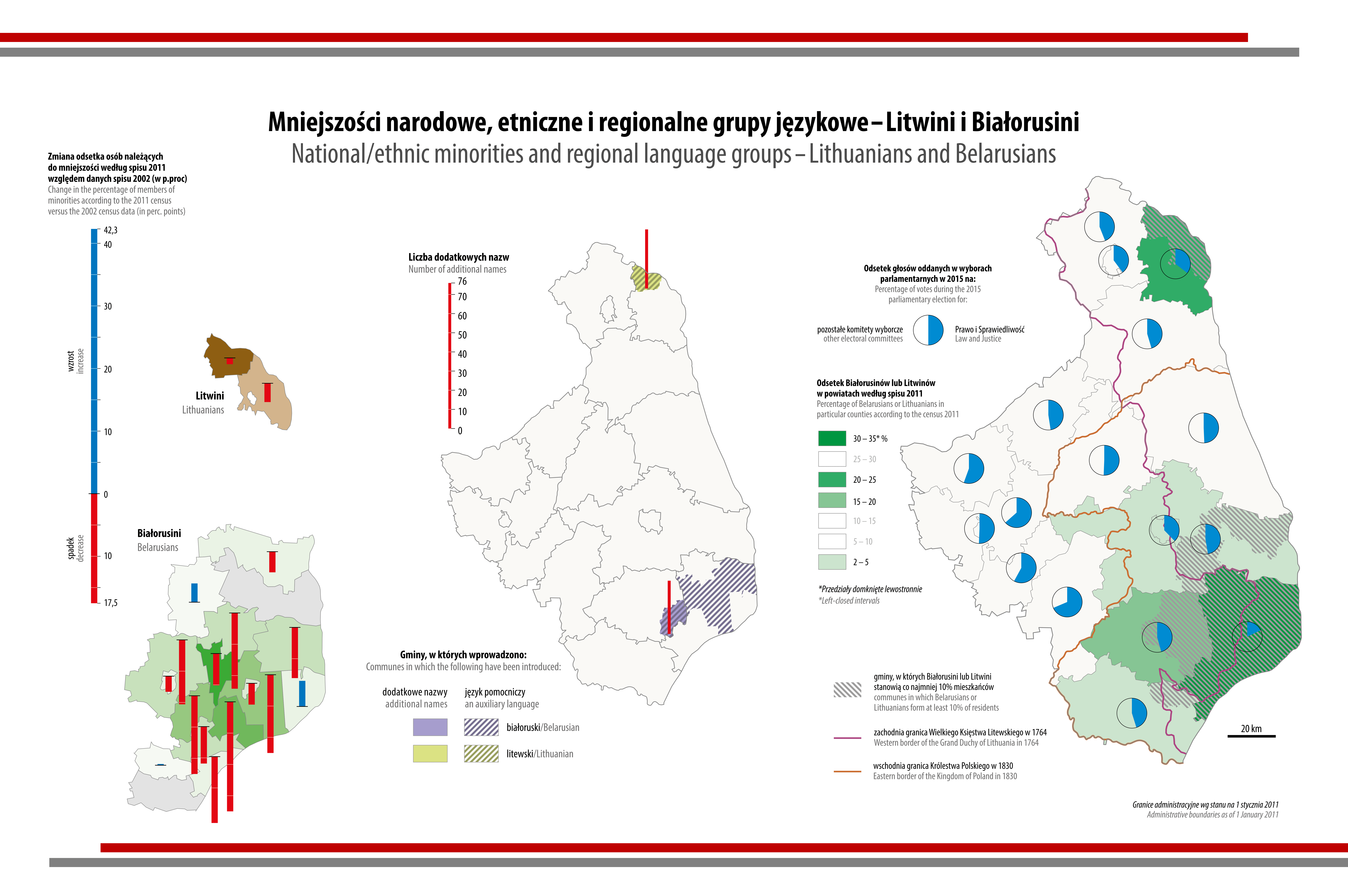 MAPA TYGODNIA: Litwini i Białorusini