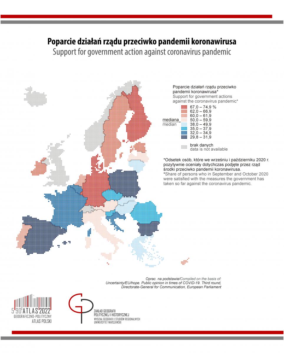PIĄTKOWY POST PANDEMICZNY: Unia Europejska – poparcie działań rządów przeciw pandemii COVID