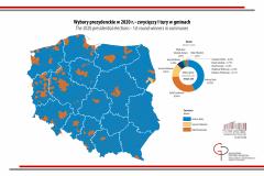 MAPA TYGODNIA: wyniki wyborów prezydenckich w 2020 r. - I tura