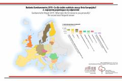 MAPA TYGODNIA: Eurobarometr: Co dla Ciebie osobiście znaczy Unia Europejska? Druga najczęściej pojawiająca się odpowiedź.