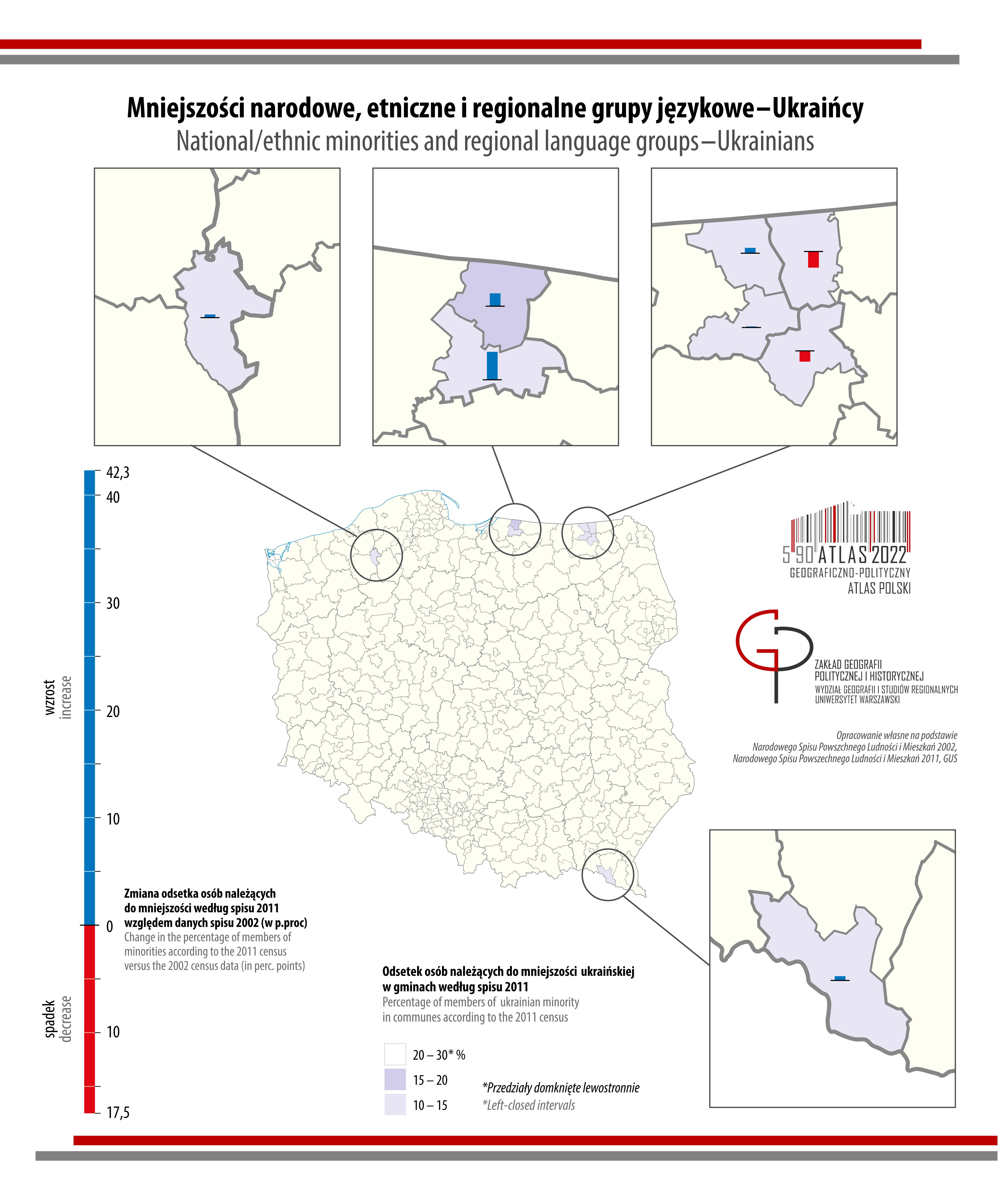 MAPA TYGODNIA: Ukraińcy w Polsce
